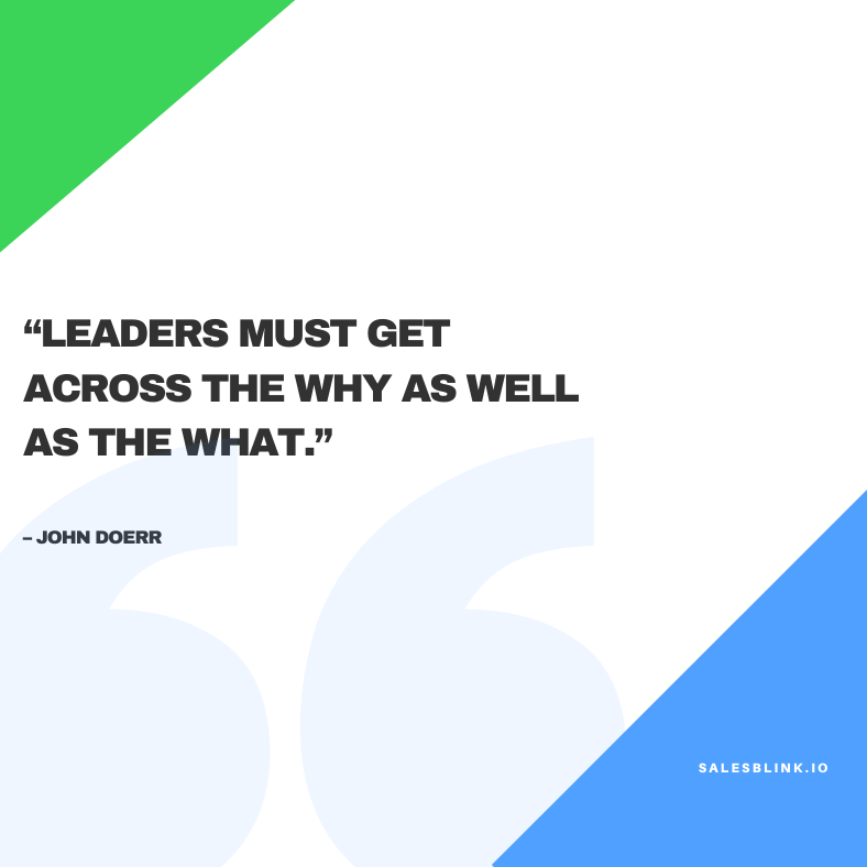 motivational quote by John Doerr
