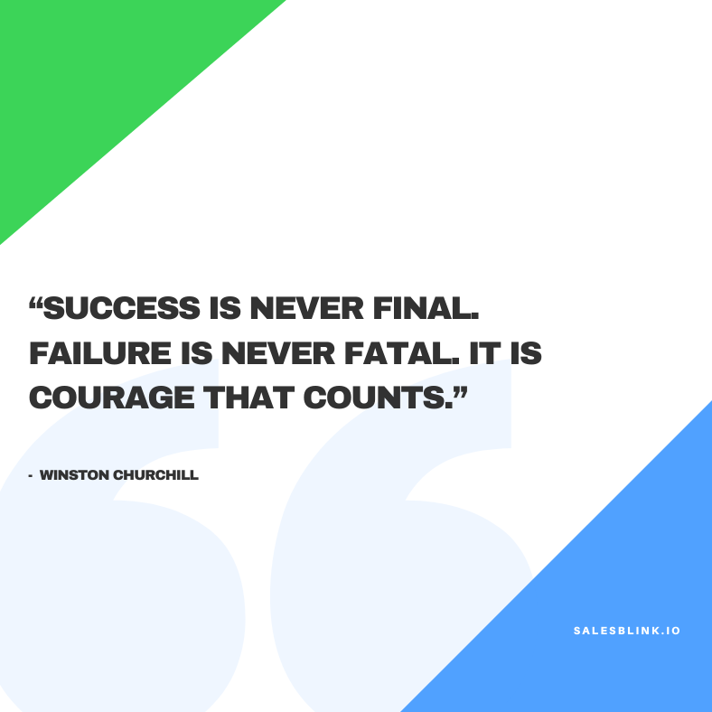 motivational  quote by Winston Churchill
