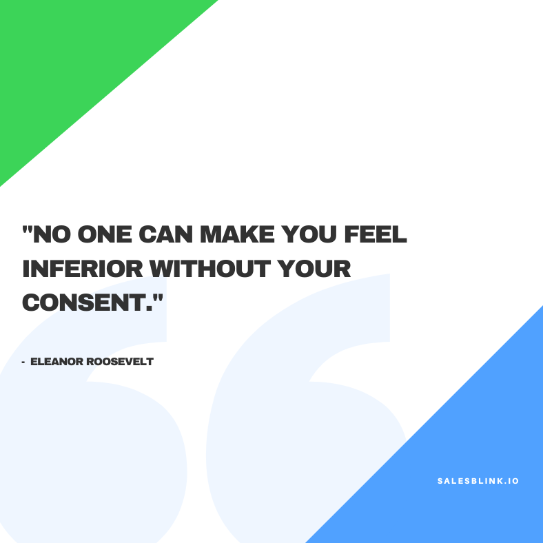 motivational quote by Eleanor Roosevelt