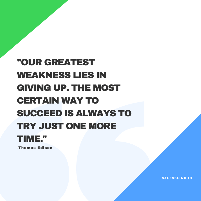 motivational quote by Thomas Edison