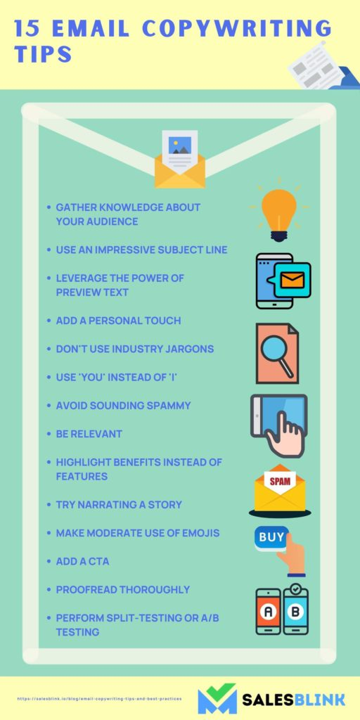 15 Email Copywriting Tips