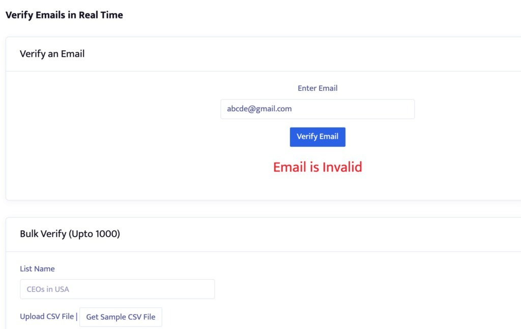 Email Verification Tool - Verify Email