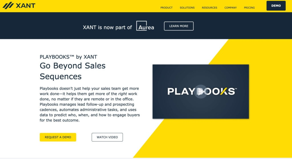Playbooks by Xant