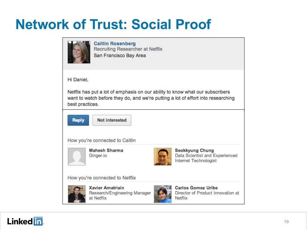 Provide social proof